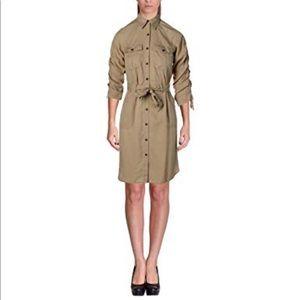 Lauren Lyocell beige dress size 10